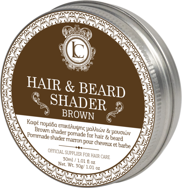 Greg hair and Nails Lavish Brown Beard and Hair Shader Pomade